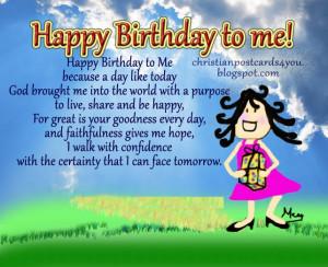 Birthday Quotes For Myself. QuotesGram