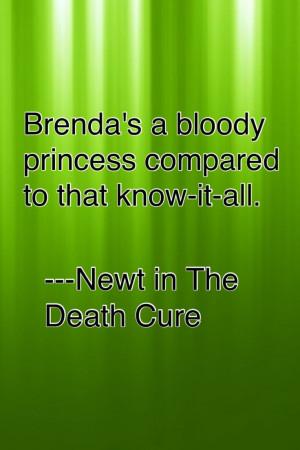 My favorite Newt quote. xD