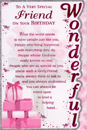 Birthday Special Friend. Good Luck Football Sayings. View Original ...