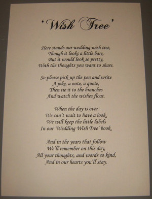 Wishing Tree Poem