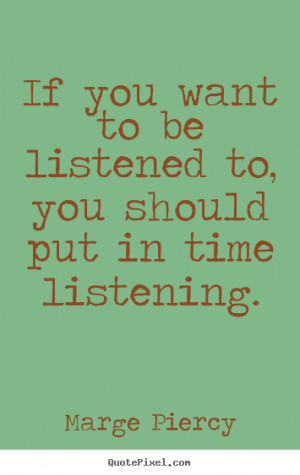 listening quotes - Google Search More