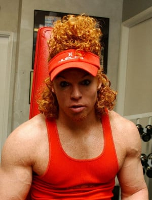 Carrot Top says: