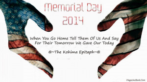 ... That Memorial Day Quote For Memorial . .Quotes For Funeral Cards