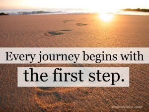 The First Step motivational-quotes