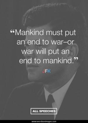 Jfk quotes