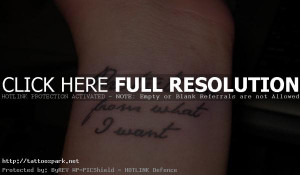 tattoo quotes ideas wrist tattoo quote for women wrist tattoo quote ...