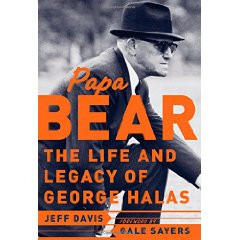 George Halas at the Hall of Fame
