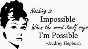 Famous quotes by Audrey Hepburn