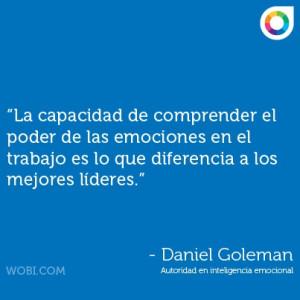 Quote por Daniel Goleman #WOBI