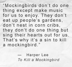 Quote From the Book quot To Kill A Mockingbird quot More