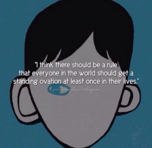 Book Quote ~ Book: Wonder