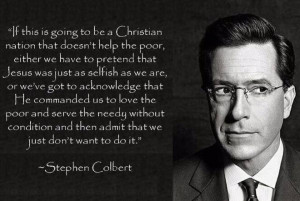 Stephen Colbert: 'If This Is Going To Be A Christian Nation…'