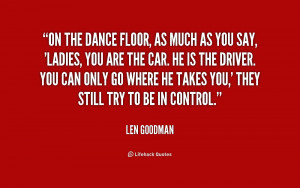 Related with Dance Floor Quotes
