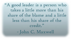 Good Leaders Are Invaluable...