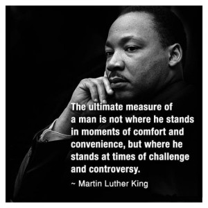 Martin Luther King – At Times of Challenge