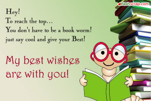 Exam Wishes Orkut Scraps and Exam Wishes Facebook Wall Greetings