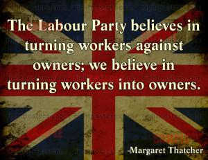 Margaret Thatcher Union Poster