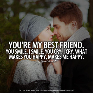 Love quotes for him, cute, sayings, romantic, best friend