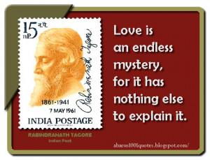 Rabindranath Tagore's Inspiring Quotes
