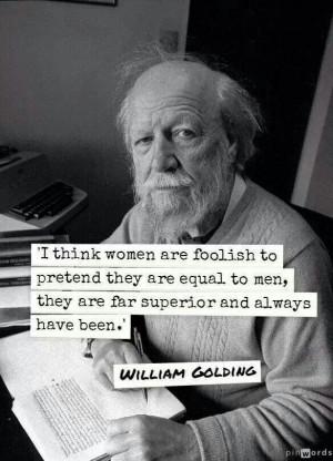 William Golding quotes.