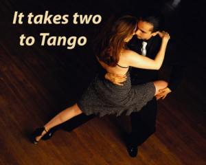 """... the boxers barely threw any punches. """"It takes two to tango"""