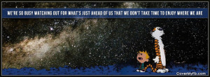 Calvin and Hobbes Quotes Facebook Cover