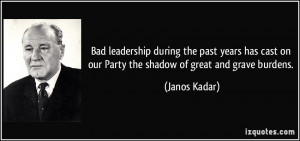 bad leadership quote