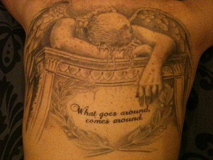 ... grieving over the skulls angel of grief tattoo jeff memorial tattoo 35
