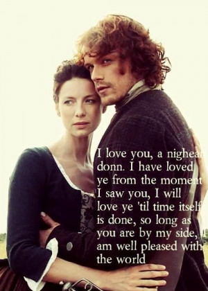 Outlander Jamie And Claire Love