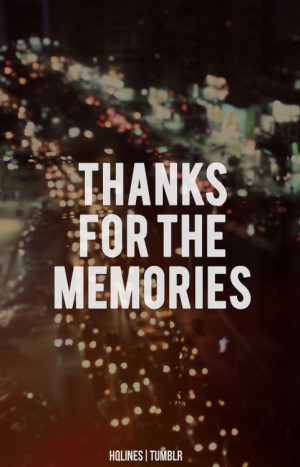 Amazing Girl Memories Quote