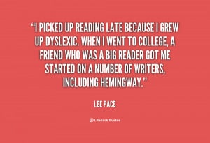 Lee Pace Quotes