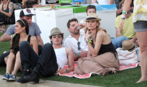 Nina Dobrev Ian Somerhalder Joshua Jackson Diane Kruger
