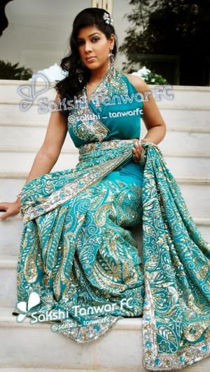 Sakshi Tanwar at Sattva Saree Photoshoot