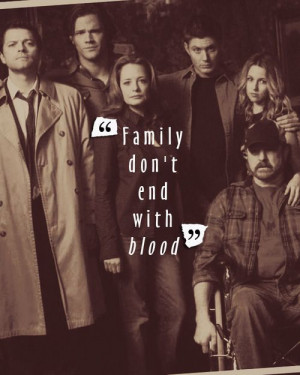 Sam, Dean, Castiel, Bobby, Ellen and Jo ~ Supernatural