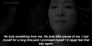 cristina yang, feeling, grey',s anatomy, quotes, text
