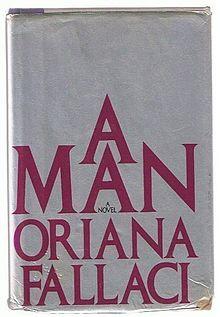 Hardcover of A Man by Oriana Fallaci.jpg