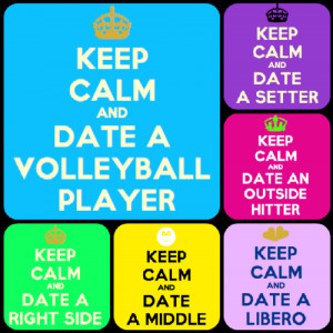 Single volleyball players:)