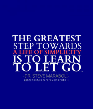 Learning to let go is the first step to creating the live anywhere ...