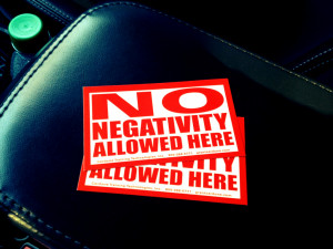 no time for negativity quotes