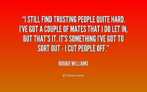 Quotes About Trusting People Preview quote