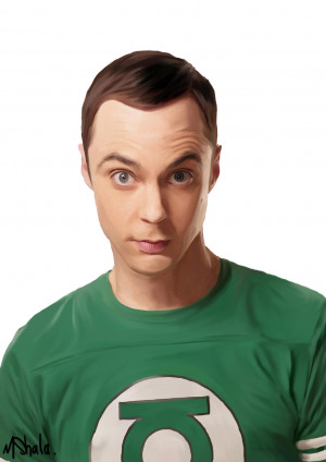 The Big Bang Theory Sheldon Cooper Is the big bang theory.