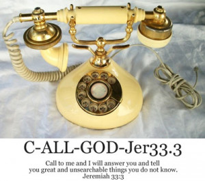 God's Phone Number :-)