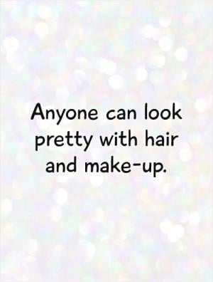 have too much makeup, said no woman ever.