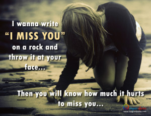 ... how much it hurts to miss you… Alone Quotes Life Quotes Love Quotes
