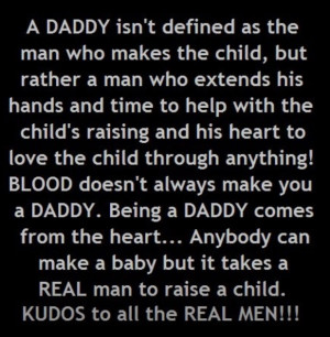 So TRUE It takes a real dad to take the time with their children ...