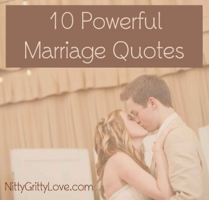 10 Powerful Marriage Quotes