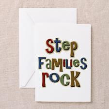 Stepfamilies Rock Step Family Day Greeting Cards ( for