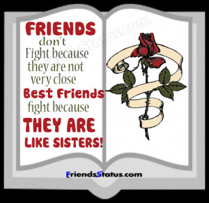 best friends fight quotes picture