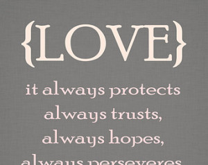 Popular items for love bible quote on Etsy