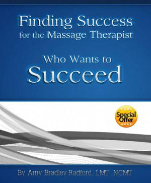 GREAT massage marketing book. http://www.amazon.com/Finding-Success ...